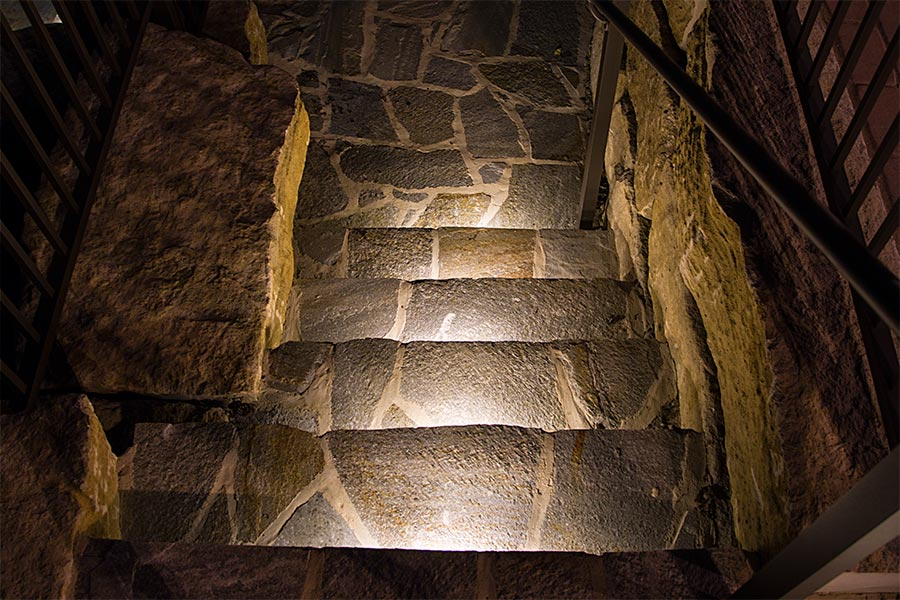 Retaining Wall Landscape Lights : LED Hardscape Light - 6