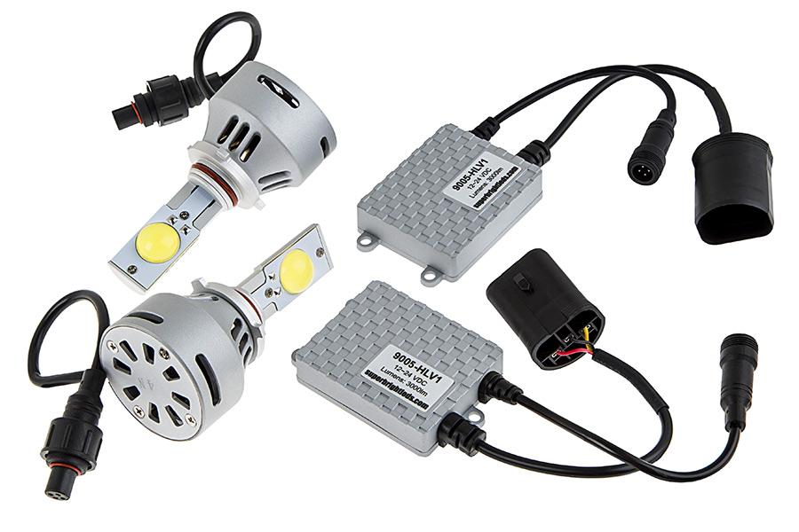 LED Headlight Kit - 9005 LED Headlight Bulbs Conversion Kit