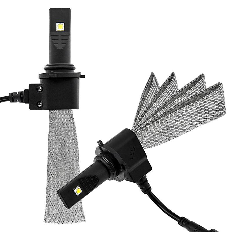 Led Headlight Kit Hb4 9006 Led Headlight Bulbs Conversion Kit With Flexible Tinned Copper