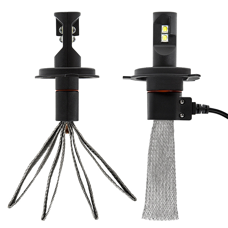 led headlight kit h led headlight bulbs conversion kit led headlight kit h4 led headlight bulbs conversion kit flexible tinned copper braid
