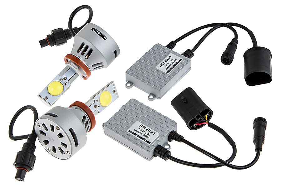 Led Headlight Kit H11 Led Headlight Bulbs Conversion Kit