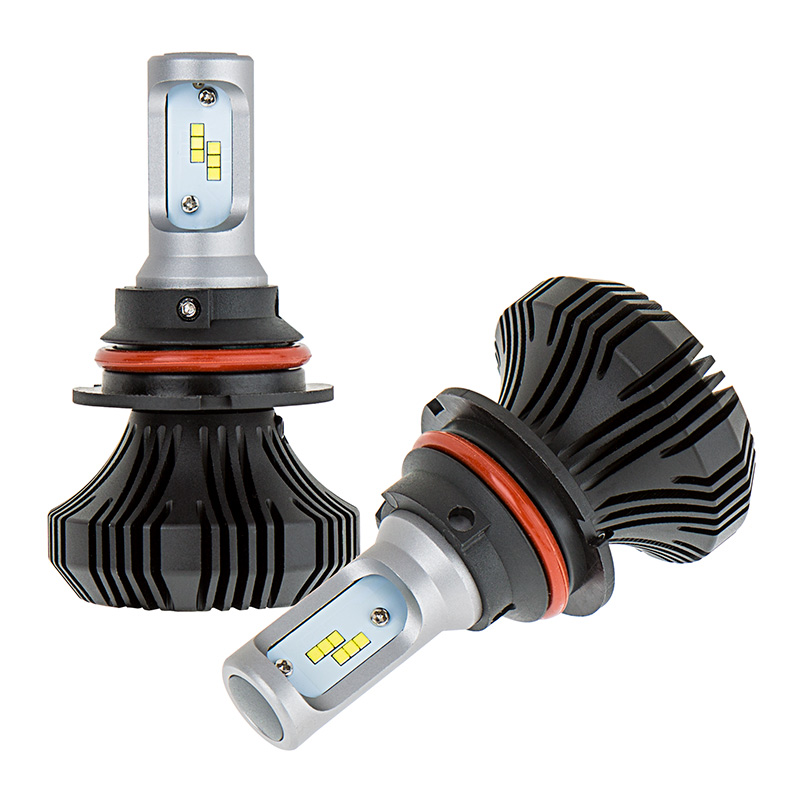 Led Headlight Kit 9007 Led Headlight Bulbs Conversion Kit With Compact Heat Sink Led
