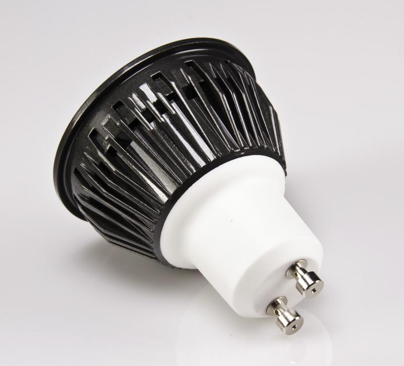 white 5 watt led gu10 bulb super bright leds. Black Bedroom Furniture Sets. Home Design Ideas