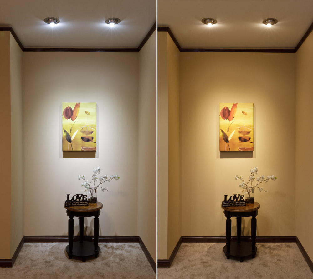 Cool Room Lighting: White 6 Watt LED GU10 Bulb