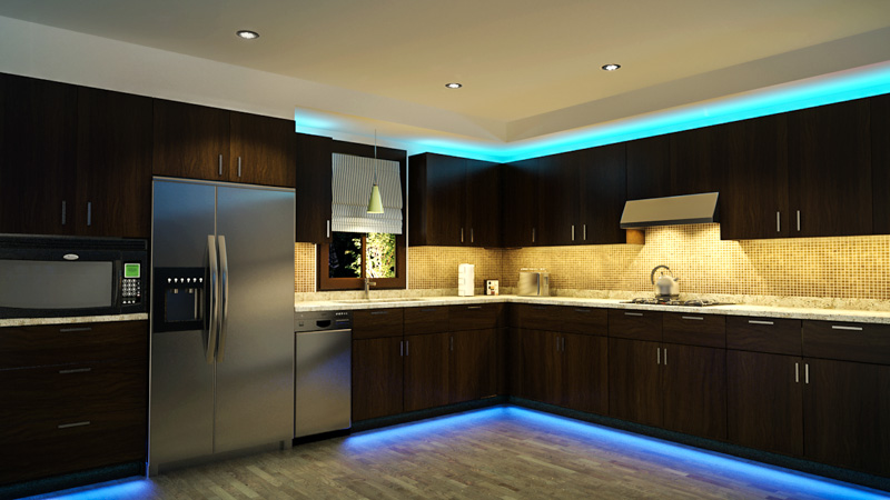 Led Strip Lights Under Cabinet. Aluminum Luminaria Led Light Bar ...