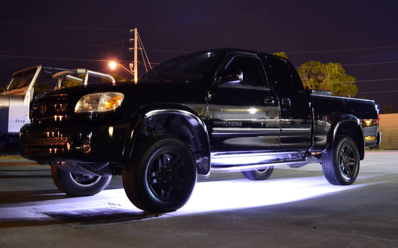 12 meter 30 led light tube with 3 chip leds 573 lumens led underglow on truck aloadofball Images