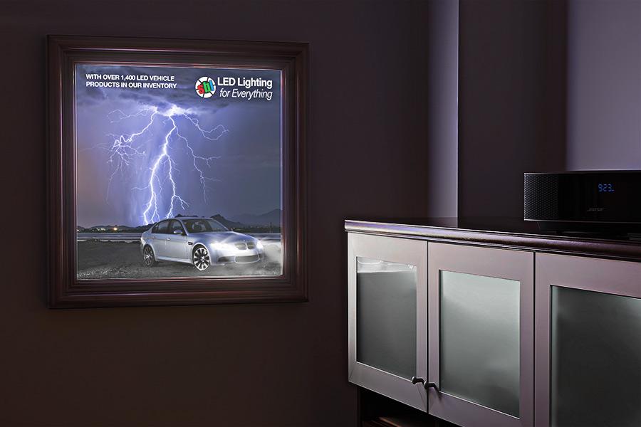 Custom LED Light Box Panels   Trade Show Lighting & Display Lighting ...