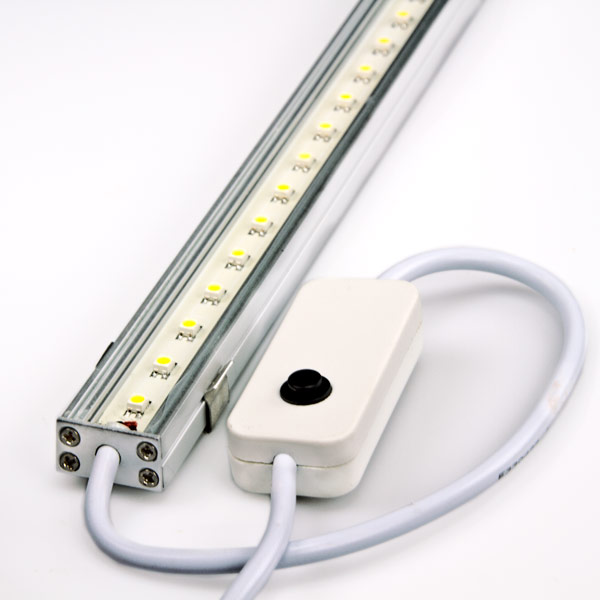 Led Light Fixture With Switch: Cool White High Power LED Light Fixture With Switch