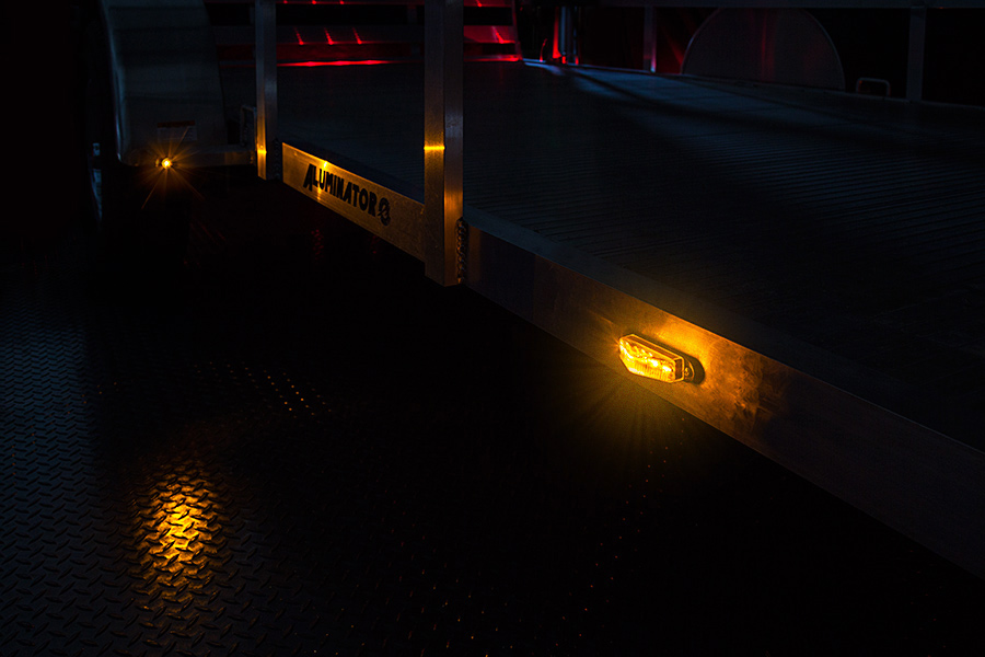 Rectangular Led Truck And Trailer Lights 3 1 2 Led Side