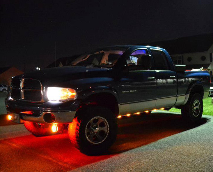 tx rigid road jeep houston industires awt lights edition with truck lighting off img led