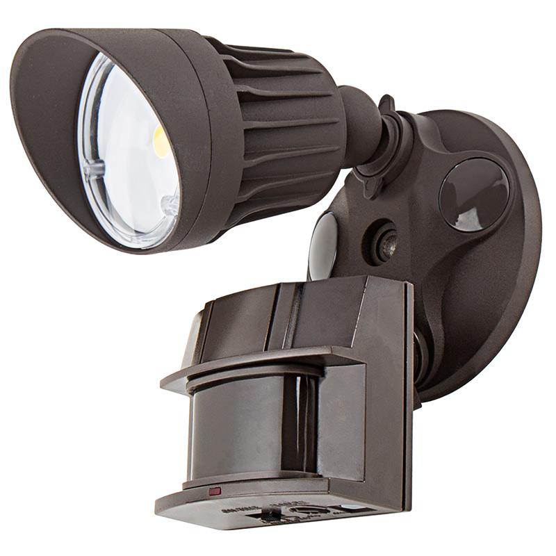 Light Sensor Garage Lights: Single Head Security Light