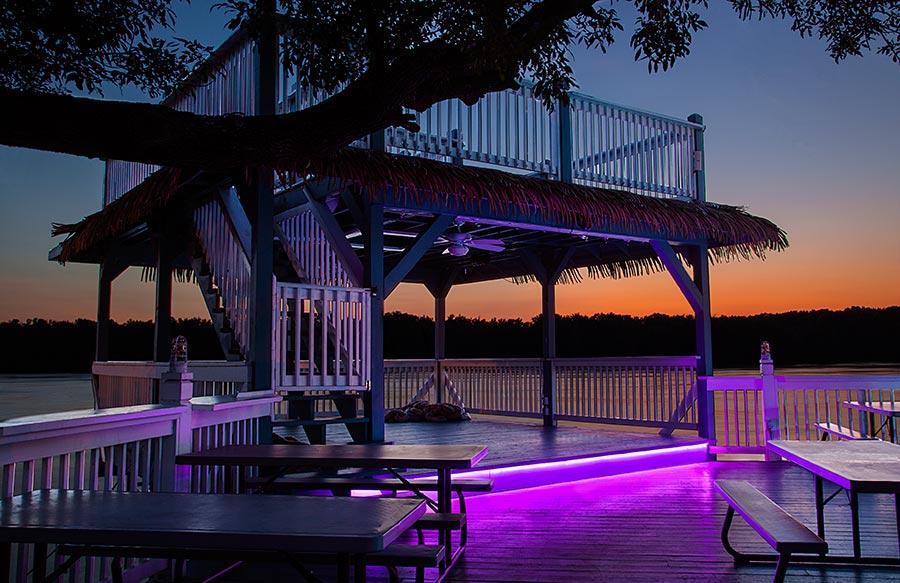 Outdoor RGB LED Strip Lights Custom Length 12V LED Tape