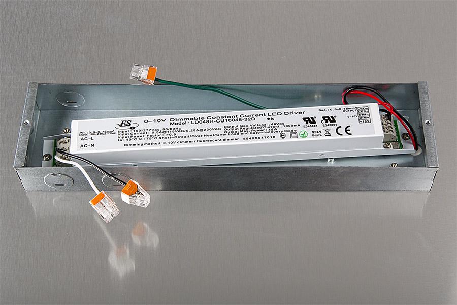 led panel light fixture 44w 2ft x 2ft 3 300 lumens super bright leds. Black Bedroom Furniture Sets. Home Design Ideas