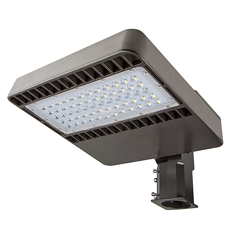 Outdoor Parking Lot Light Fixtures: 150W (320/400W MH Equivalent) 100