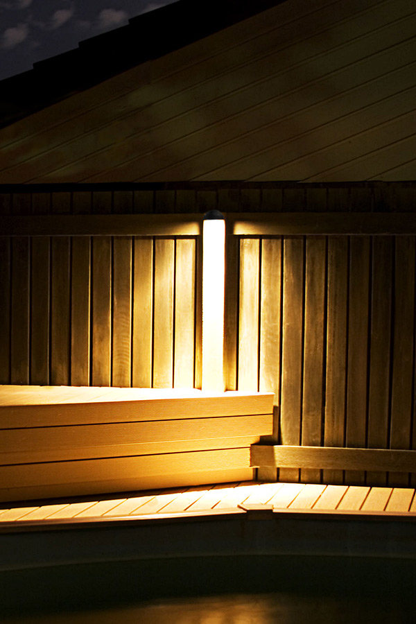Led eyelid step deck light 4 watt led landscape for Led deckenlicht