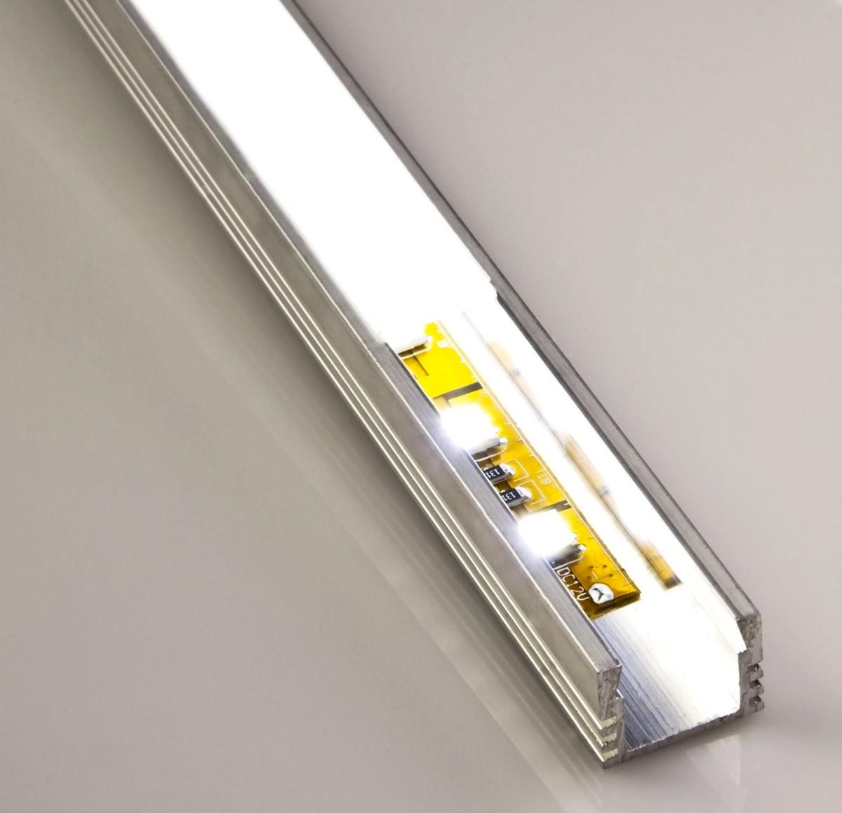 Deep surface mount aluminum profile housing for led strip - Profile alu led ...