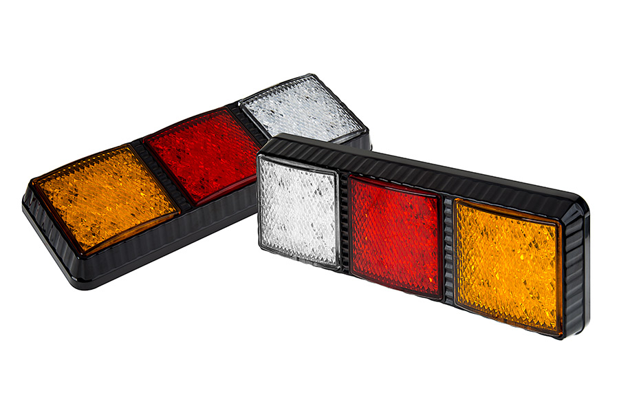 Led rear combination lamps truck stopturntailreverse lights w led rear combination lamps truck stopturntailreverse lights w removable light heads pigtail connector push back to remove lights aloadofball Image collections