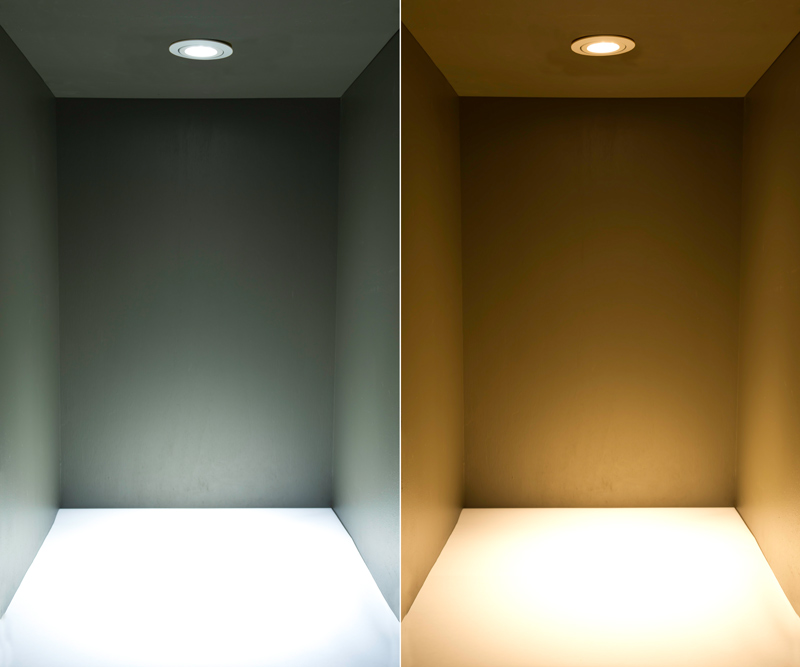 Brightest Recessed Lighting Bulbs : Led recessed light fixture cree xpe watt equivalent