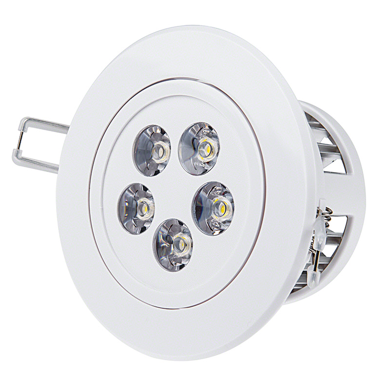 Brightest Recessed Lighting Bulbs : Led recessed light fixture aimable watt equivalent