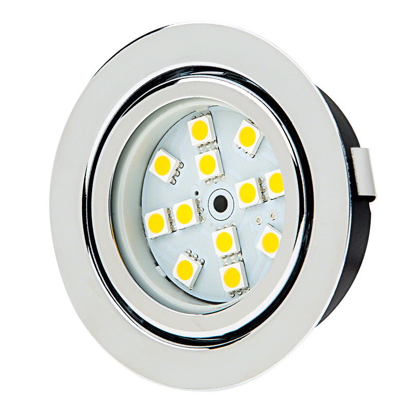 Led Light Fixture Pictures: Recessed LED Puck Lights
