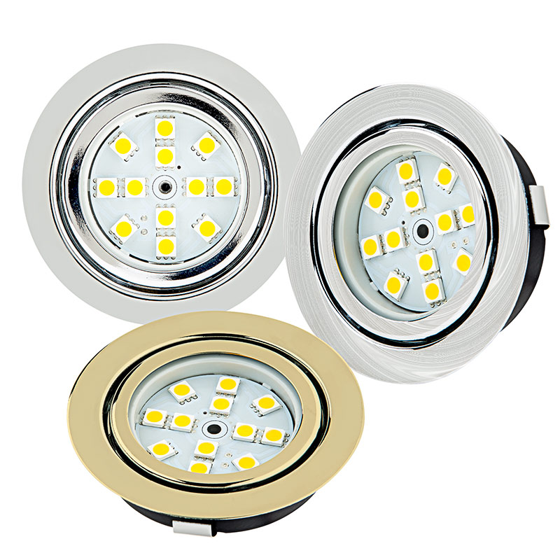 Recessed led puck lights 12 led 20 watt equivalent 170 recessed led puck lights 12 led 20 watt equivalent available in chrome brushed nickel polished brass mozeypictures Images