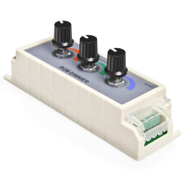 rgb led dimmer led controller led dimmers led strip lights le. Black Bedroom Furniture Sets. Home Design Ideas