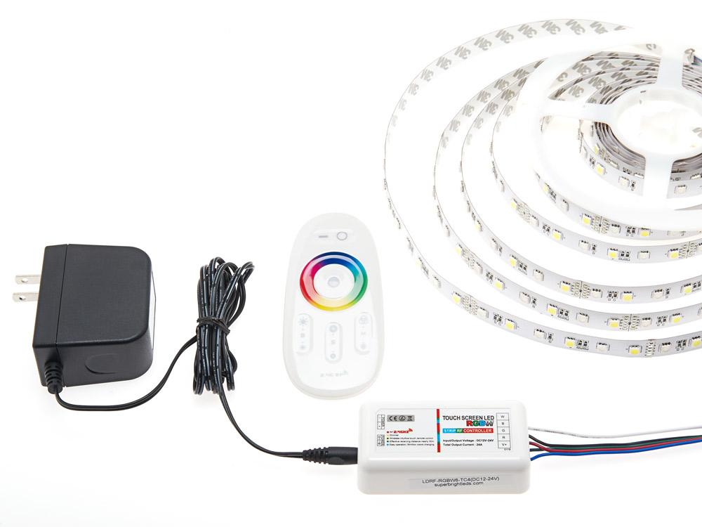 smartphone or tablet wifi compatible rgb white controller. Black Bedroom Furniture Sets. Home Design Ideas