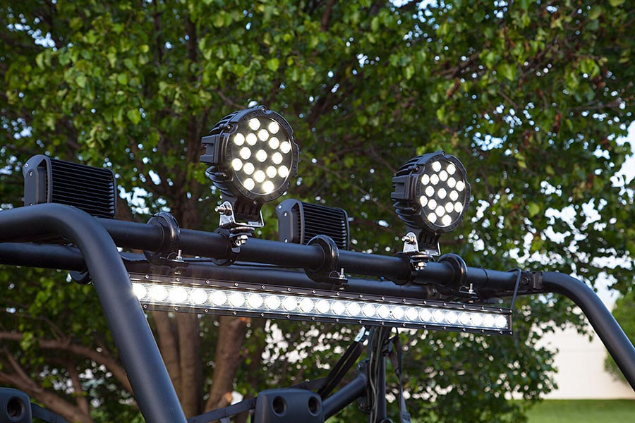 30 off road led light bar 90w 7200 lumens led light bars for 30 inch off road led light bar with combo beam attached to top of atv utv aloadofball Image collections
