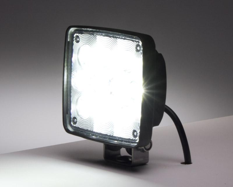 4 square 10w super duty high powered led spot light led. Black Bedroom Furniture Sets. Home Design Ideas