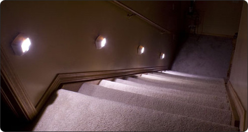 Attrayant Wireless Motion Sensor Led Step Stair Lights By Mr Beams