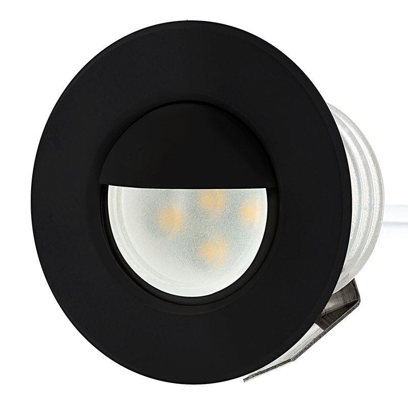 deck step accent light 0 5 watt led deck lighting super bright. Black Bedroom Furniture Sets. Home Design Ideas