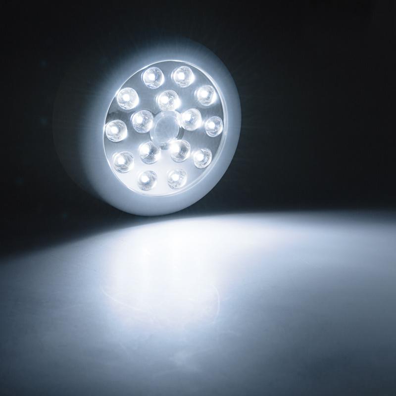 motion sensor led stick up lights 40 lumens stick up. Black Bedroom Furniture Sets. Home Design Ideas