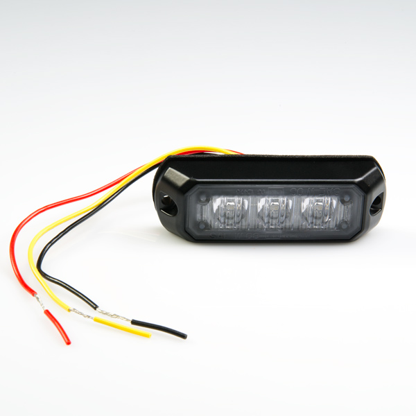 led strobe P STRB x3W_3 vehicle led mini strobe light head w built in controller 3 watt 3 wire strobe light wiring diagram at bayanpartner.co
