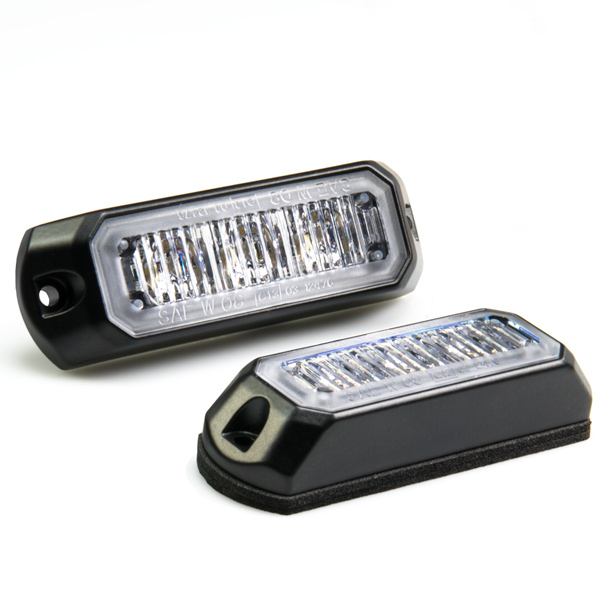 Vehicle LED Mini Strobe Light Head W/ Built-In Controller