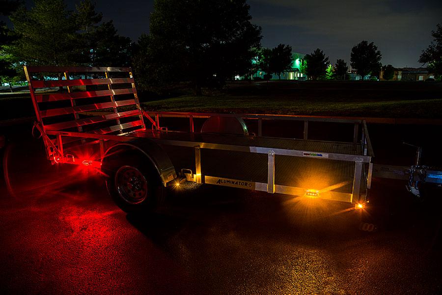 rectangle led truck and trailer lights 3 3 4 led side. Black Bedroom Furniture Sets. Home Design Ideas