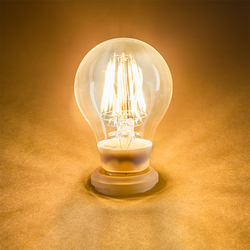 light bulb a19 led globe bulb w filament led 8w led globe bulbs. Black Bedroom Furniture Sets. Home Design Ideas