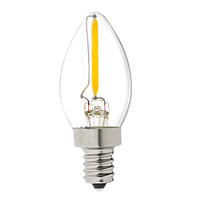C7 Led Bulb >> Vintage Led Night Light Bulb C7 Led Candelabra Bulb W Filament