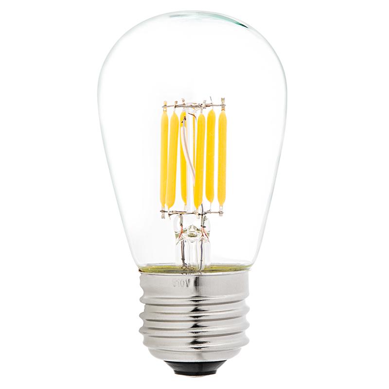 led vintage light bulb s14 led sign bulb w filament led 40 watt equivalent dimmable 338. Black Bedroom Furniture Sets. Home Design Ideas