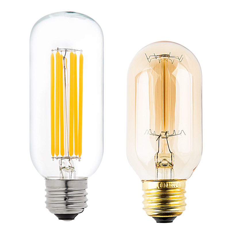 T14 Led Filament Bulb 60 Watt Equivalent Vintage Light Bulb Radio Style Dimmable 780