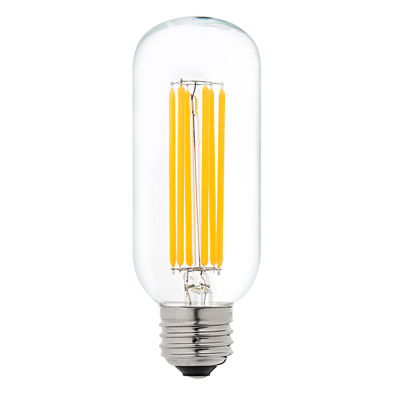 T14 led filament bulb 60 watt equivalent vintage light bulb radio style dimmable 780 Bulbs led