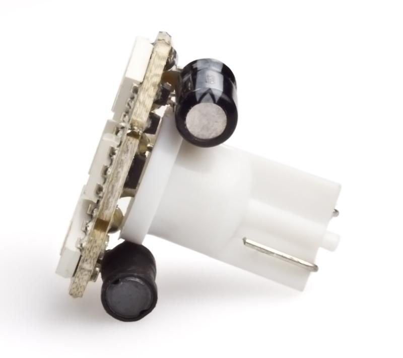 194 Led Bulb 6 Smd Led Wedge Base Fdac Miniature Wedge Base Leds Led Car Light Bulbs
