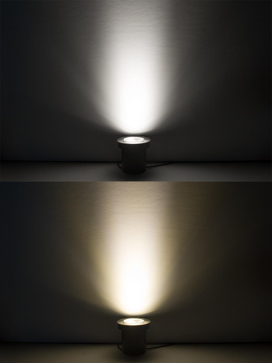 Linkable led in ground well light 20 watt equivalent for Led lampen 0 3 watt