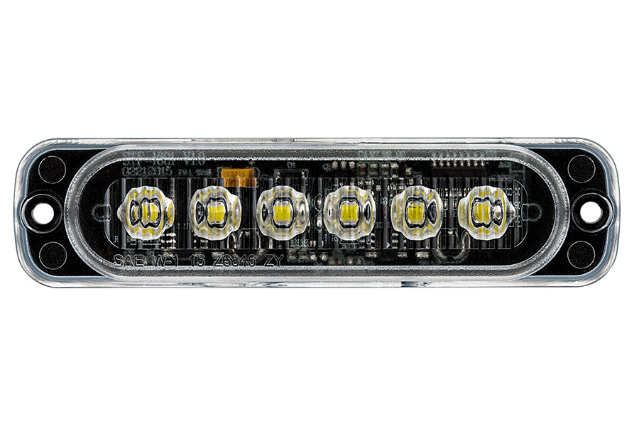 Low Profile Vehicle LED Mini Strobe Light Head - Built-In ...