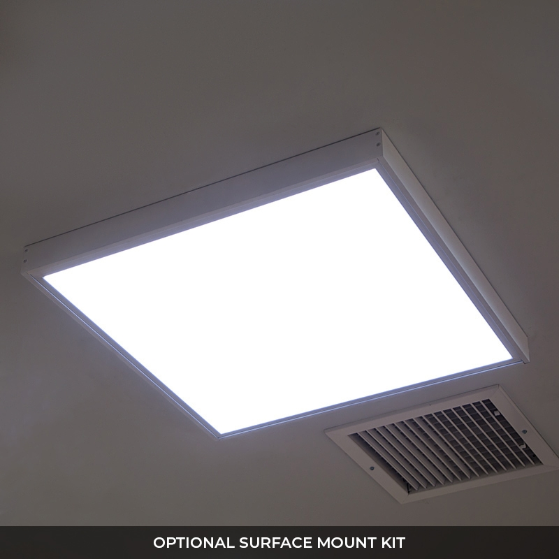 2 X2 Led Panel Light 40w Even Glow Led Panel Light Fixture Dimmable Drop Ceiling 4000 Lumens