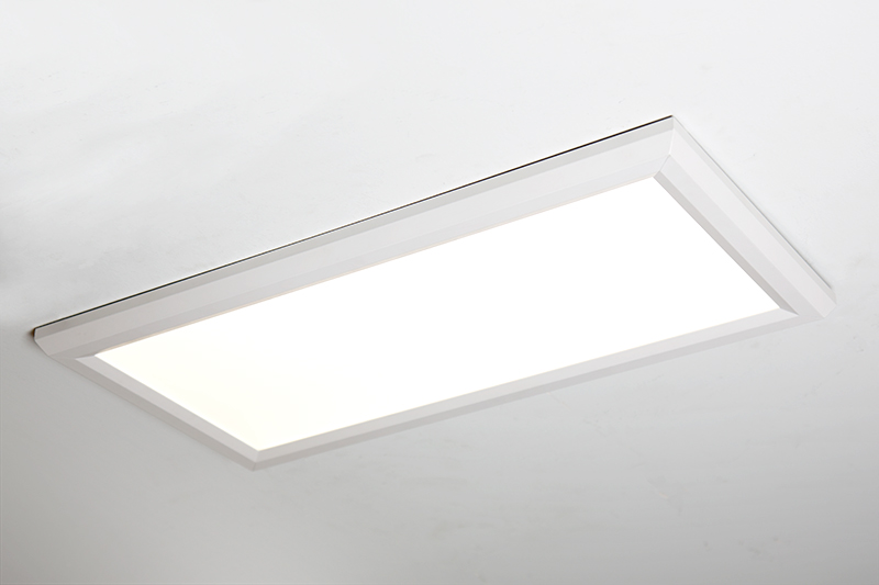 Led Panel Light 1x2 2 500 Lumens 25w Dimmable Even Glow Fixture Flush Mount