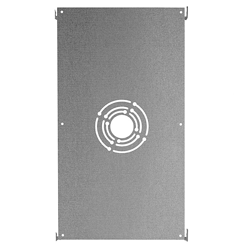 Dimmable 40W LED Panel Light Fixture   1ft X 4ft: Ceiling Surface Mount  Option With A Slotted Design For Compatibility With Multiple Size Junction  Boxes
