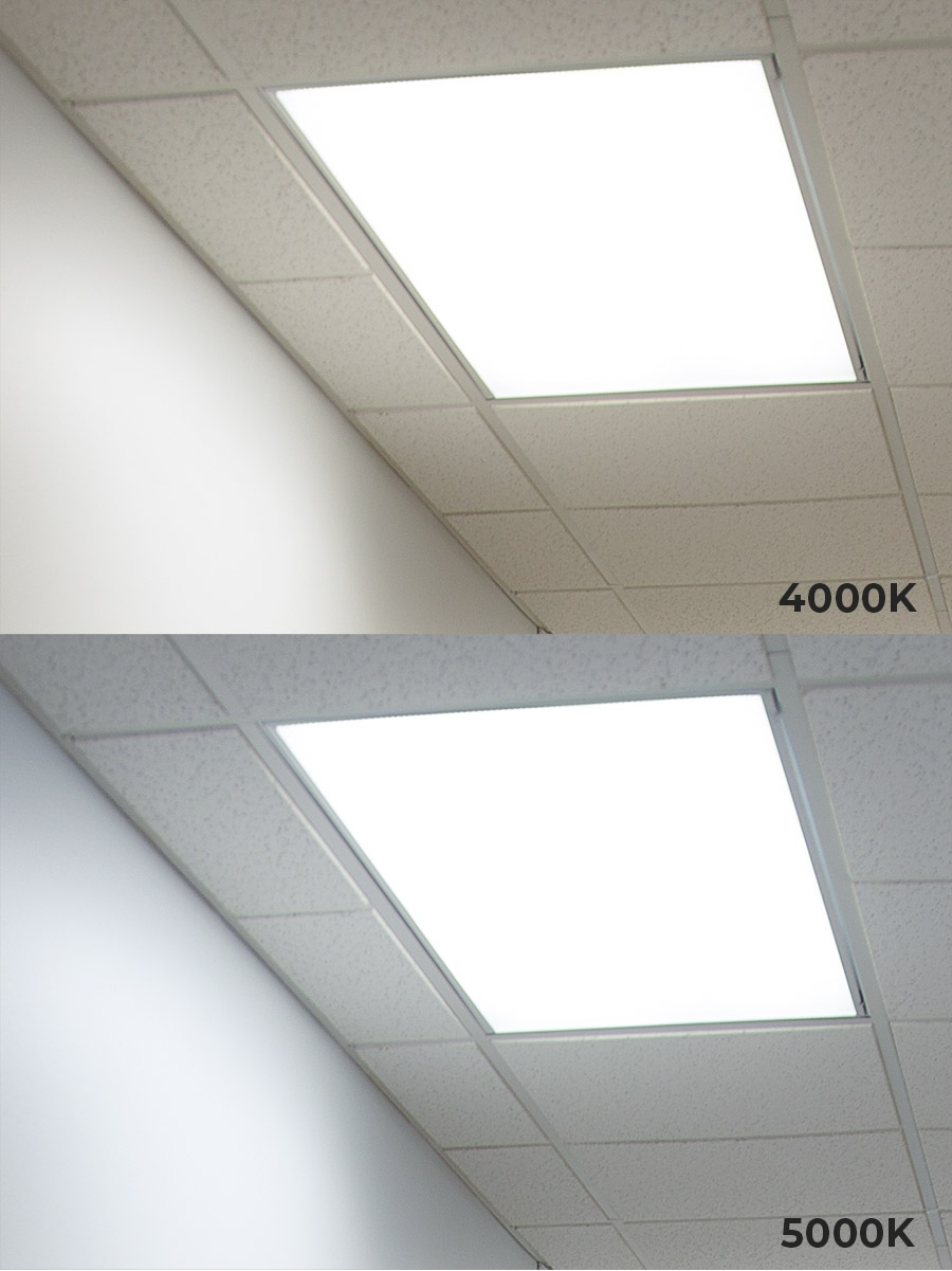 2 X4 Led Panel Light 50w Even Glow Led Panel Light Fixture Dimmable Drop Ceiling 5000 Lumens