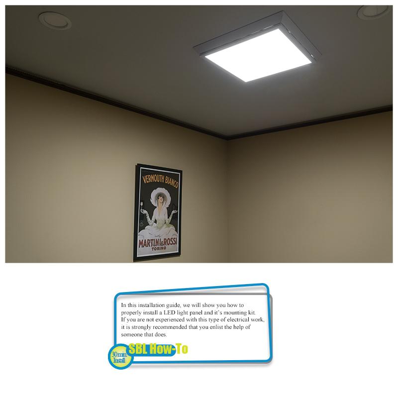 Led Panel Light Ceiling Frame Kit Panel Light