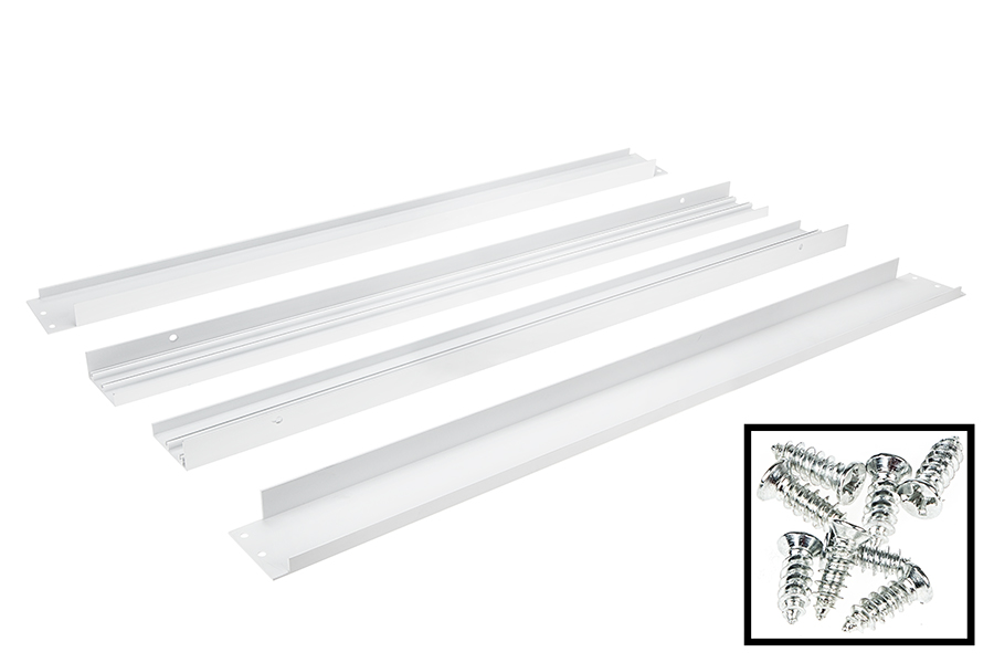led panel light ceiling frame kit must be assembled screws included