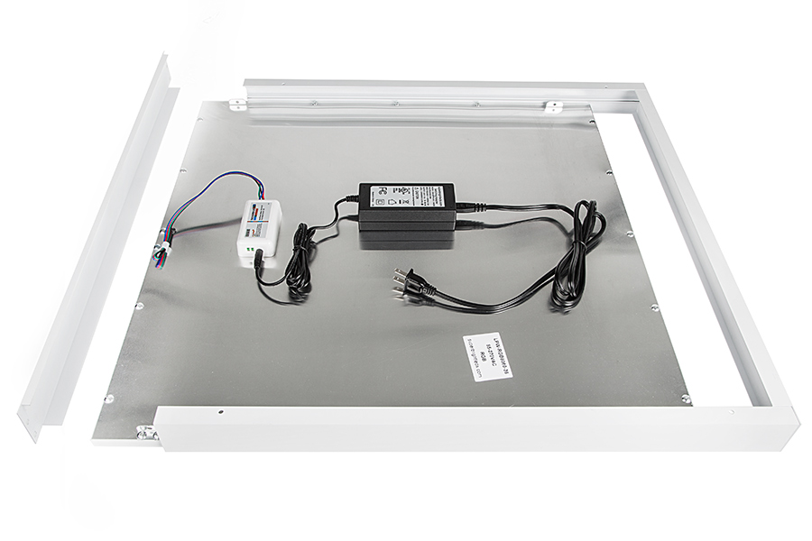 RGB LED Panel Light - 2x2 - 36W Dimmable Even-Glow® Light Fixture ...